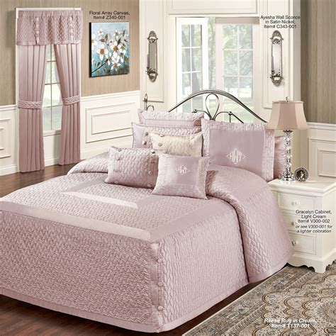 mauve bedding silk allure dusty mauve oversized quilted bedspread bedding