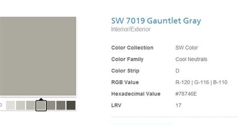 Kitchen Cabinets Color Schemes sherwin williams gauntlet gray number 11 pinterest