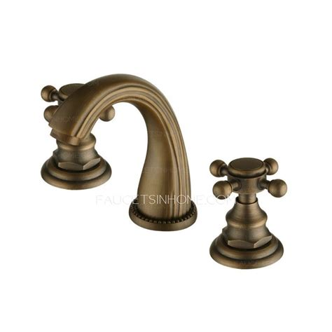 Antique Bronze Bathroom Fixtures Vintage Antique Bronze Brass Brushed Bathroom Faucets