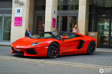 lamborghini aventador lp700 4 roadster 15 october 2014 autogespot