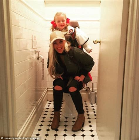 mom at the toilet uncanny annie sparks debate after sharing a photo