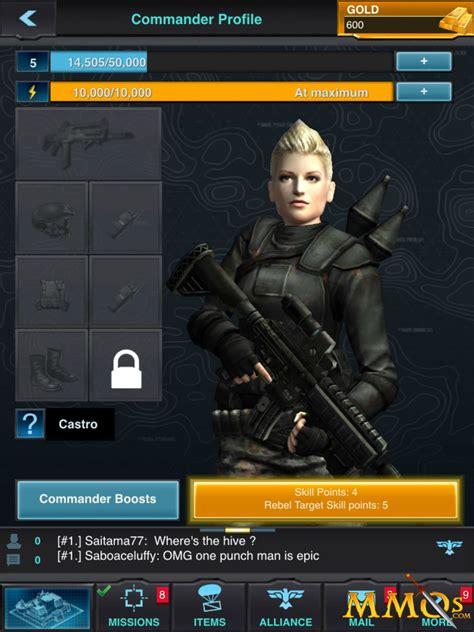 mobile strike girl mobile strike game review