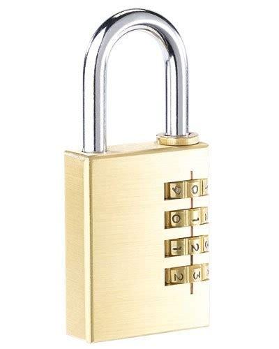 cadenas 224 code en laiton avec code 4 chiffres pearl fr