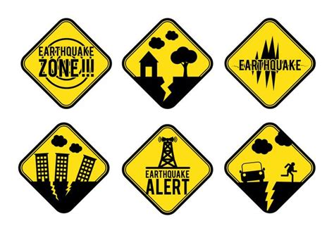 Earthquake Alert | related keywords suggestions for earthquake sign