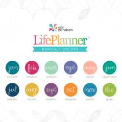 erin condren color guide color guide for the 2017 eclifeplanner erincondren