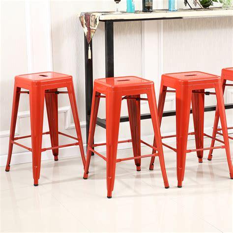 old metal bar stools set of 6 metal steel bar stools vintage antique style