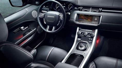 land rover interior 2017 jaguar land rover unveils range rover evoque ember edition