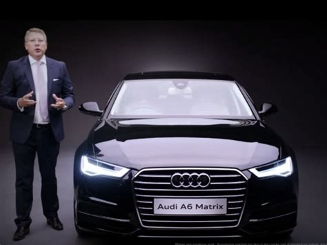 Audi A6 India Price by 2015 Audi A6 Matrix Launched Price In India Starts At Inr