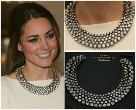 catherine duchess of cambridge s zara necklace