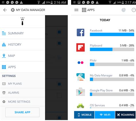 mobile data manager my data manager your mobile data and let you