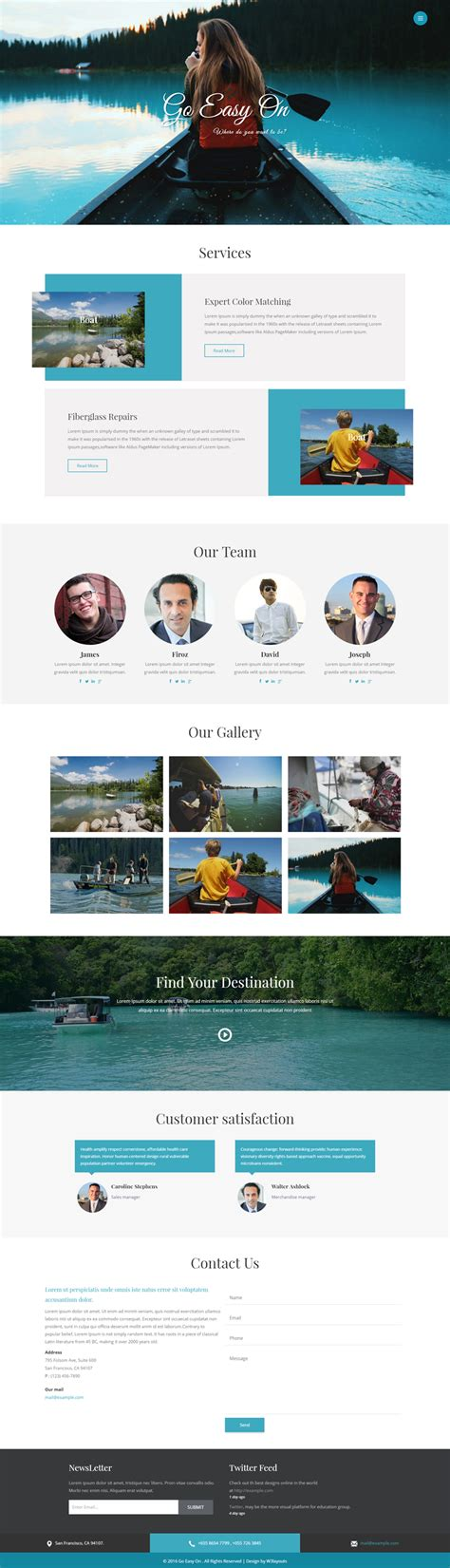 go html template go easy on a travel category bootstrap responsive web template