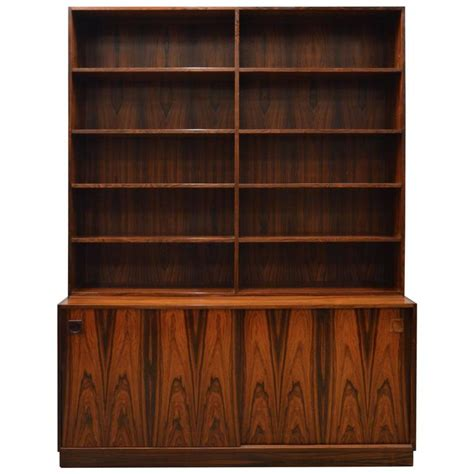 mid century modern rosewood bookcase for sale at - Modern Bookshelves For Sale