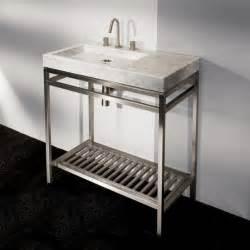 Lacava stone single bowl vanity modern bathroom vanities and sink