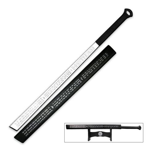 Where To Get Kitchen Knives Sharpened by Full Tang Triple Edged Sword With Display Stand Budk Com
