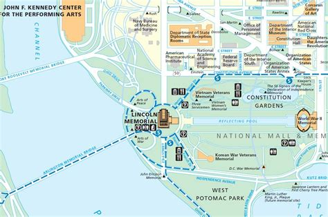 washington dc map lincoln memorial lincoln memorial map responsible for equality and