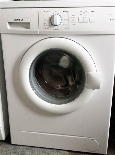 Waschmaschine Und Trockner In Einem 16 by Waschmaschine Siemens A 12 16 Eek A 5 Kg 1200 U Min V