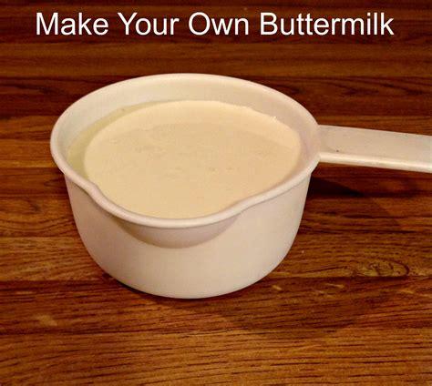 make your own buttermilk using 2 ingredients milk and vinegar