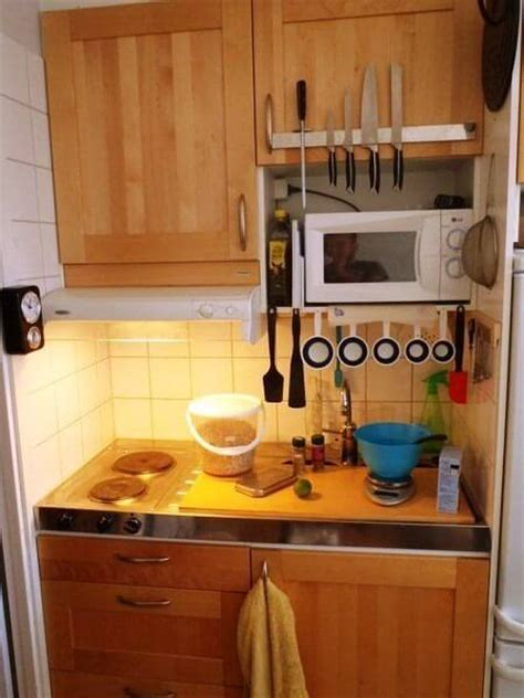 tiny kitchen 9 awesome tiny apartments apartment geeks