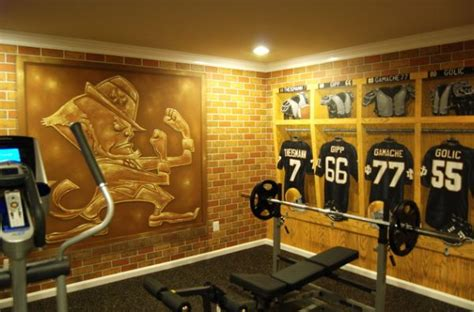 Pittsburgh Steelers Home Decor by 70 Home Gym Ideas And Gym Rooms To Empower Your Workouts