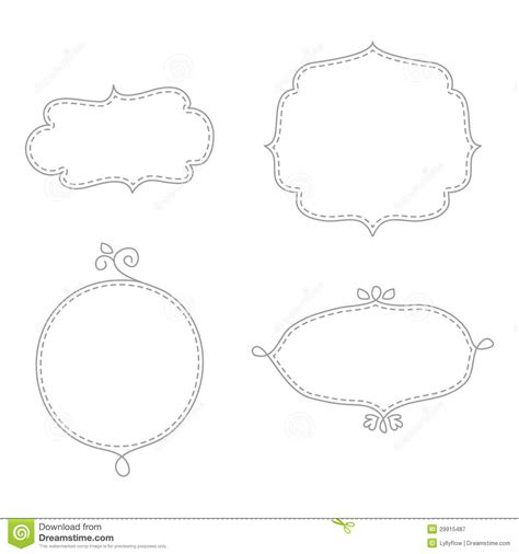 doodle frame vector free doodle frames royalty free stock photography image 29915487