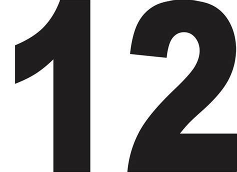 12 Inch Vinyl Numbers by 18 Quot Vinyl Adhesive Warehouse Numbers Signs By Salagraphics