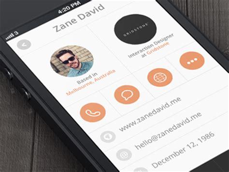 app design zane 10 stunning ui design concepts in mobile devices
