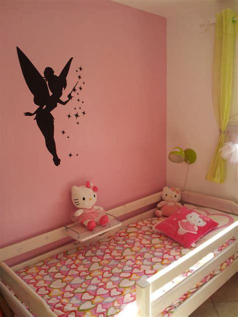 chambre fee clochette decoration chambre fille fee clochette