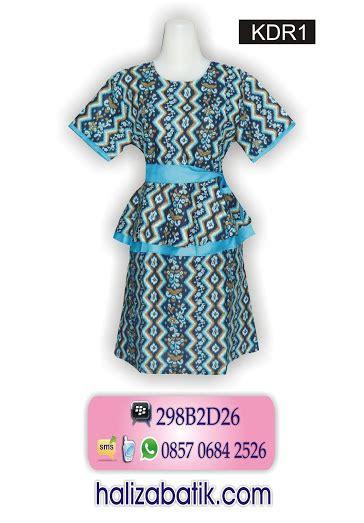 Hem Batik 042 dress grosir batik gamis batik dress batik batik sarimbit