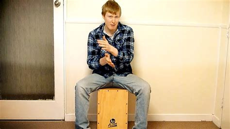 cajon tutorial cajon tutorial building on basic grooves lesson 2 youtube