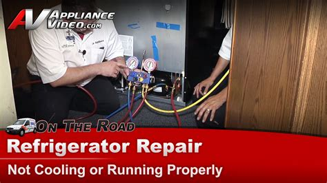 Kitchenaid Refrigerator Odor Problems Refrigerator Repair Diagnostic Not Cooling Or Running
