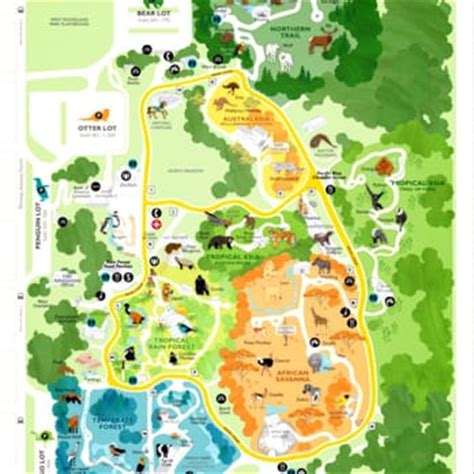 seattle zoo map woodland park zoo 1074 photos zoos phinney ridge