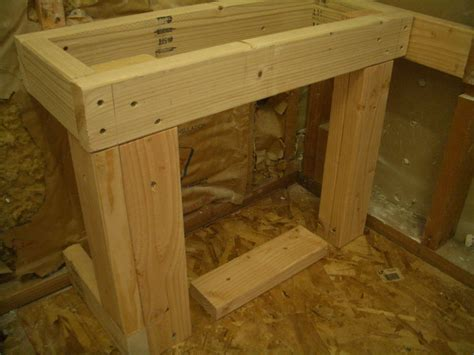framing shower bench building a bench for your shower