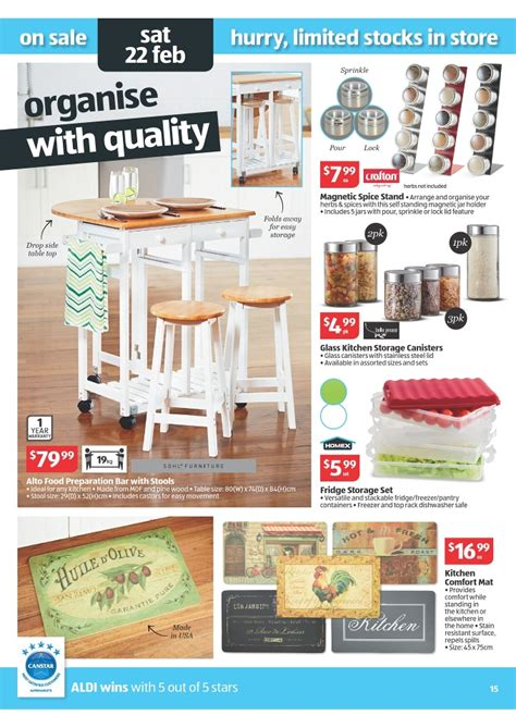 aldi bar stools aldi catalogue easter offers 2014 page 15