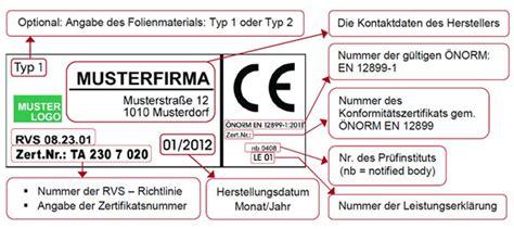 Kennzeichen Aufkleber Bedeutung by Bmvit Verkehrszeichen