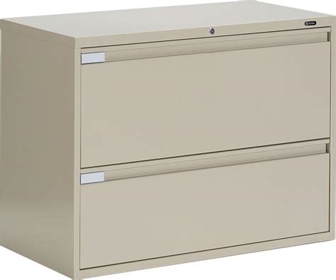 Lateral Metal File Cabinets Metal 2 Drawer Lateral File Cabinet Home Furniture Design