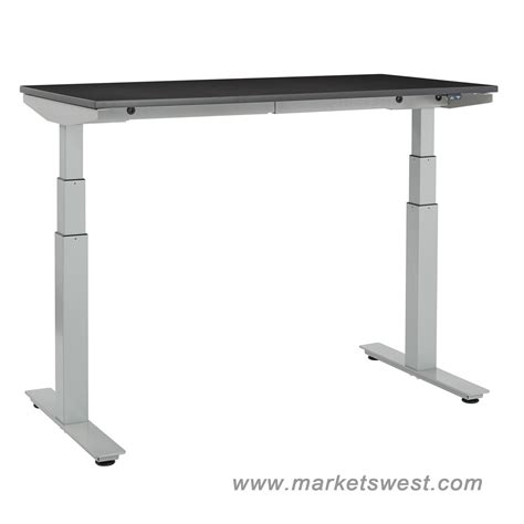 24 x 48 desk ascend electric adjustable height table desk with 24 quot x 48