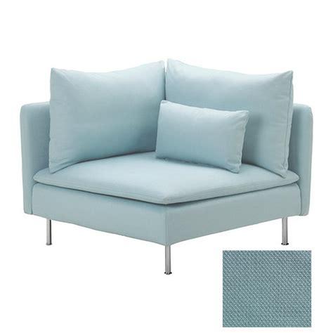 turquoise chair slipcover ikea soderhamn corner slipcover cover isefall light turquoise