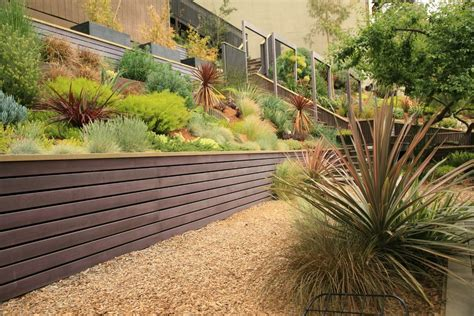 modern retaining wall modern wood retaining wall www pixshark com images