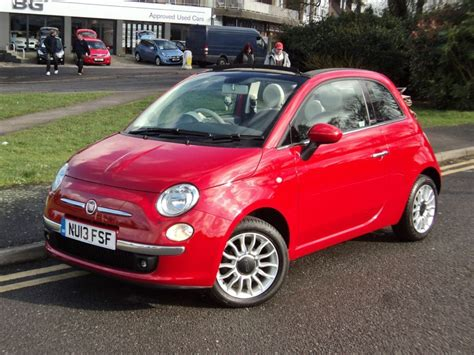 fiat convertible fiat 500c lounge cabriolet for sale epsom downs