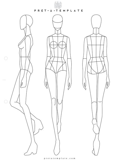 Fashion Designer Templates Portablegasgrillweber Com Fashion Drawing Template