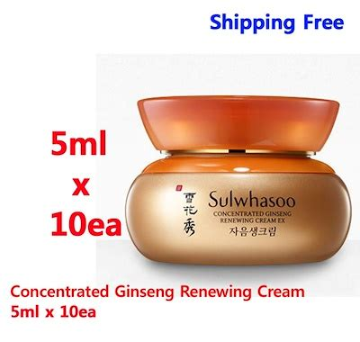 Sale Sulwhasoo Concentrated Ginseng Renewing 5ml qoo10 sulwhasoo concentrated ginseng renewing 5ml
