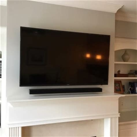 55 Inch Tv Above Fireplace by Smart Tv Installation Of Atlanta 92 Photos 79 Reviews