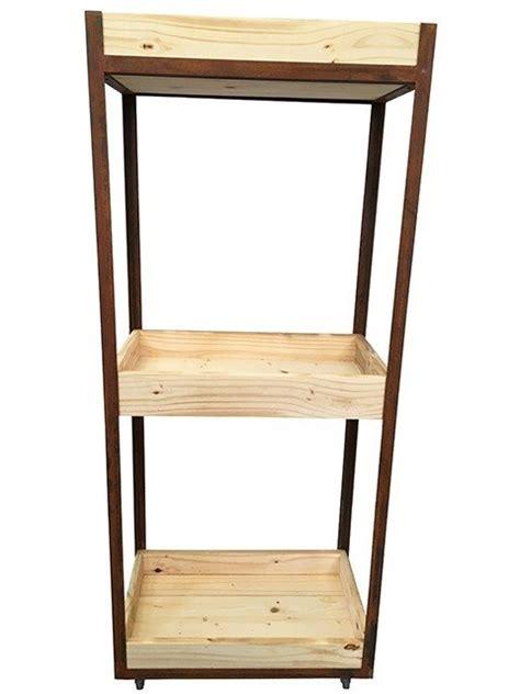 estante ferro e madeira estante de ferro e madeira pinus canadense