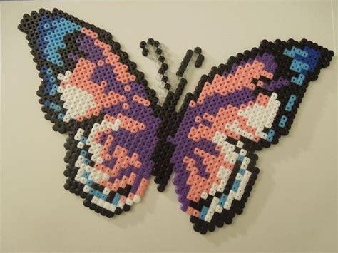 perler butterfly mariposa hama midi butterfly perler fused bead patterns