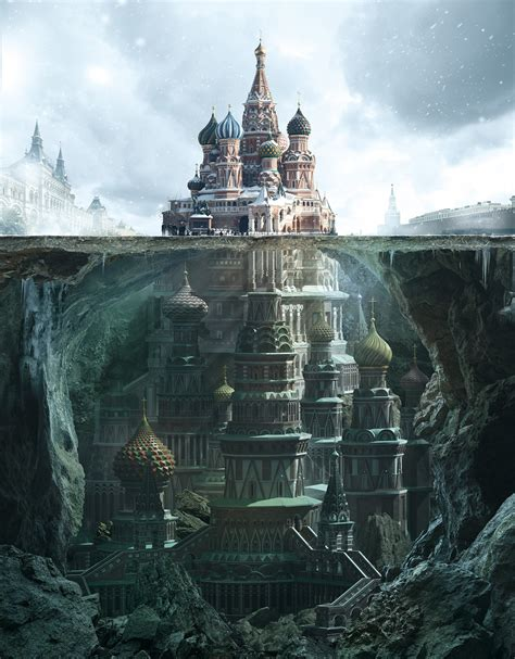 most famous architecture fantastic reimagination of iconic russian architectural