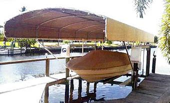 boat lift canopy cape coral boat canopies boat docks cape coral fort myers