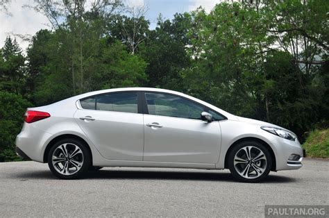 Kia Cerato Malaysia Review Driven Kia Cerato 1 6 And 2 0 On Malaysian Roads Image 182133