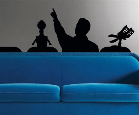 mystery science theater 3000 the room mystery science theater wall decal