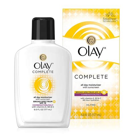 Olay Moisturising Lotion complete all day moisturizer with sunscreen spf 15