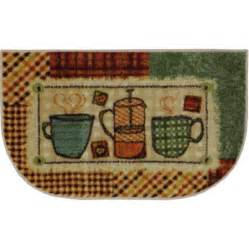 Mohawk Kitchen Rugs Mohawk Home Patchwork Cafe Kitchen Slice Rug 2 10 Quot X 1 8 Quot Multi Color Walmart